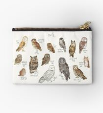 Owls Zipper Pouch