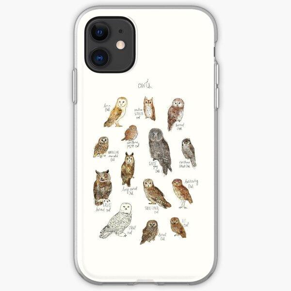 Owls iPhone Soft Case