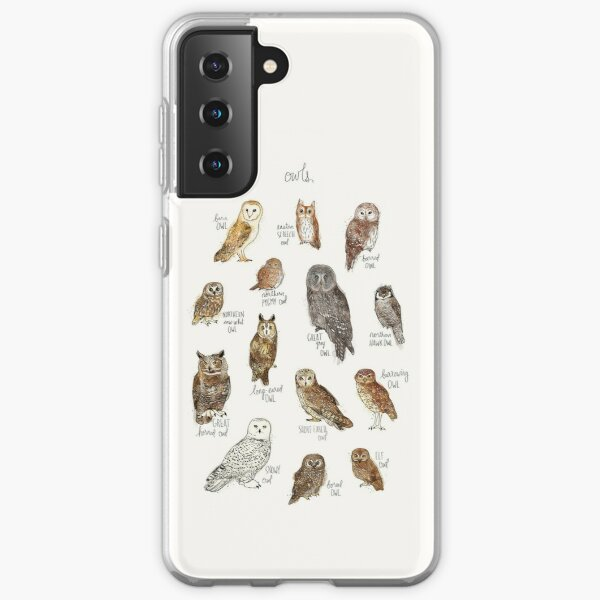 Owls Samsung Galaxy Soft Case