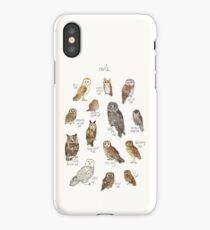 Owls iPhone Case/Skin