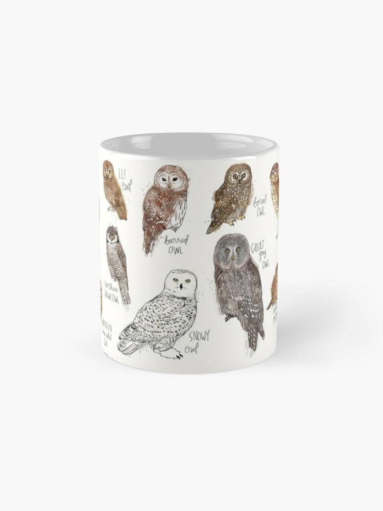 Alternate view of Owls Mug