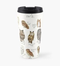 Owls Travel Mug