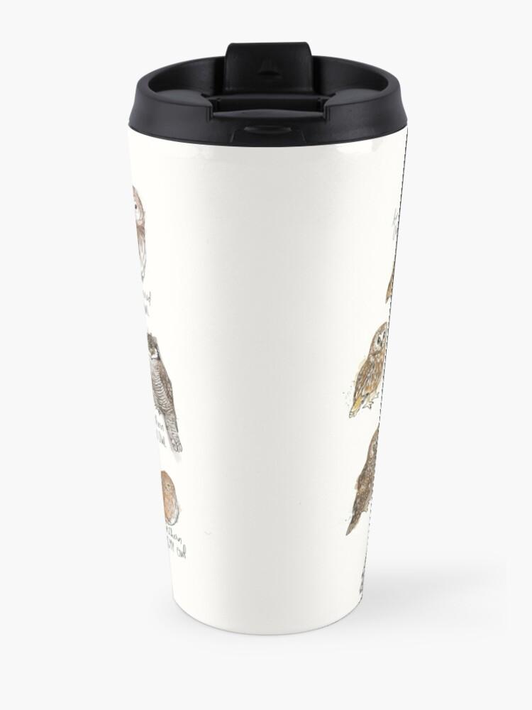 Alternate view of Owls Travel Mug