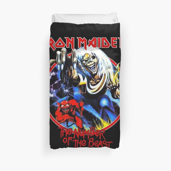 The Number Of Beast Duvet Cover