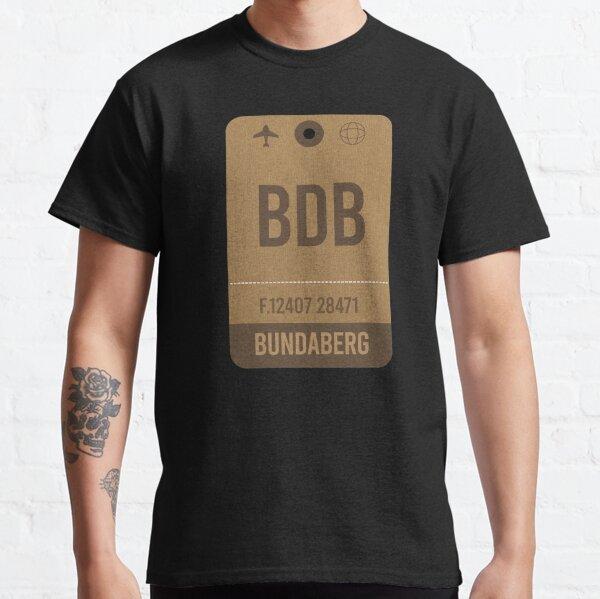 Bundaberg Vintage Airport Luggage Tag Classic T-Shirt