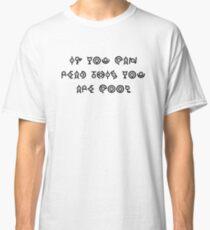 Pokealphabet test Classic T-Shirt