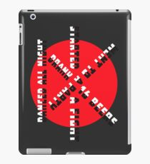 Too DK to DK iPad Case/Skin