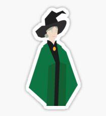 Minimalist Mcgonagall Sticker