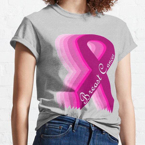 Knock Out cancer T-shirt Sensibilisation Soutien Sein Adulte /& Enfants Tee Top