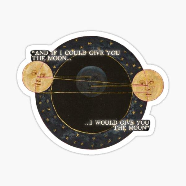 Phoebe Bridgers Moon Song Sticker