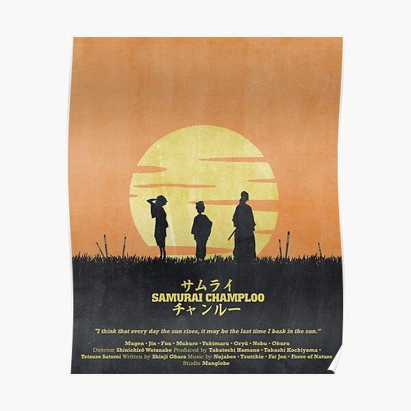 Samurai Champloo - Sun Rise Poster Poster