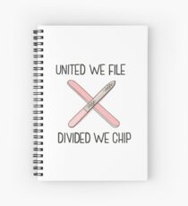 Nail Techs United Spiral Notebook