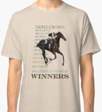 Triple Crown Winners 2015 American Pharoah Classic T-Shirt