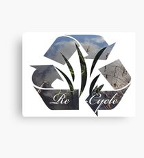Re~Cycle Canvas Print