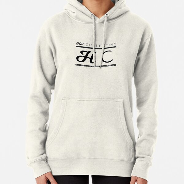 Hat Collecting Logo Pullover Hoodie