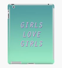 girl love iPad Case/Skin