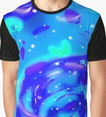 Color Shift Galaxy Graphic T-Shirt