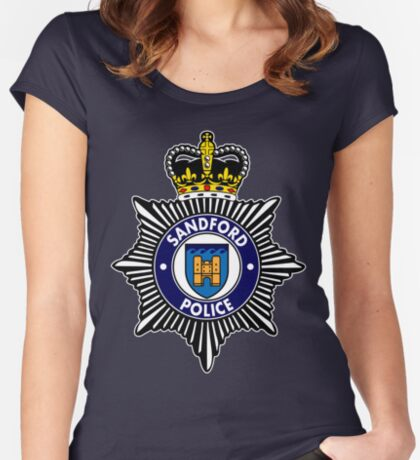 Sandford Police Women's Fitted Scoop T-Shirt