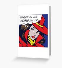 Pop Sandiego Greeting Card