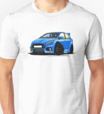 Ford Focus (Mk3) RS Blue Unisex T-Shirt