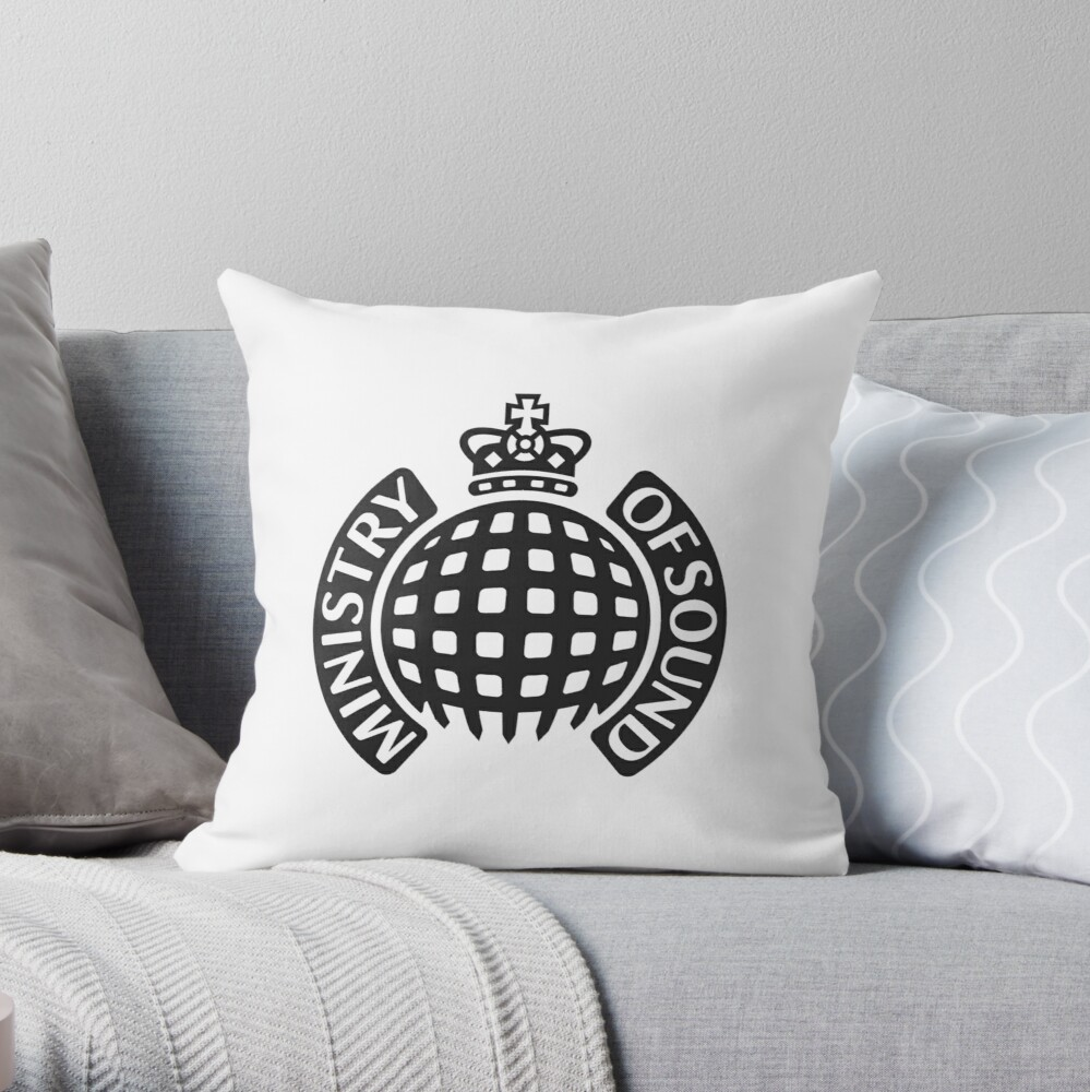 Ministry of Sound Throw Pillow