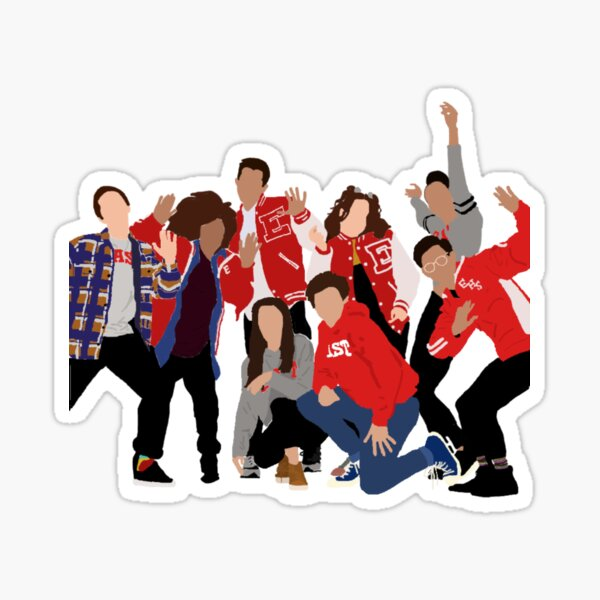 high school musical the musical the series Sticker