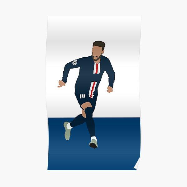 Neymar; Paris Saint Germain Poster