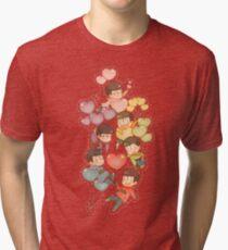 Osomatsu San Tri-blend T-Shirt