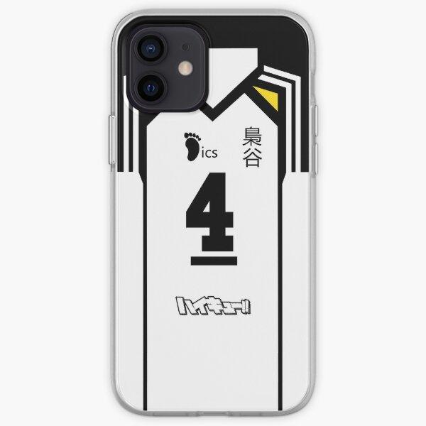 HAIKYUU!! BOKUTO KOUTAROU JERSEY PHONE CASE FUKURODANI ANIME SAMSUNG GALAXY + IPHONE iPhone Soft Case