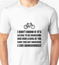 Handsome Ride Bike Slim Fit T-Shirt