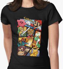 Dairanto Smash Bros Women's Fitted T-Shirt