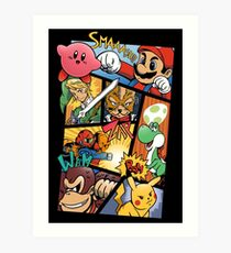 Dairanto Smash Bros Art Print
