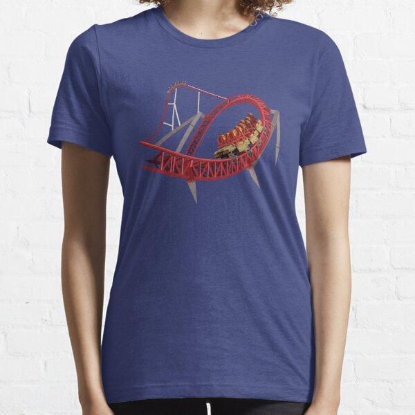 Maverick Rollercoaster Design Essential T-Shirt