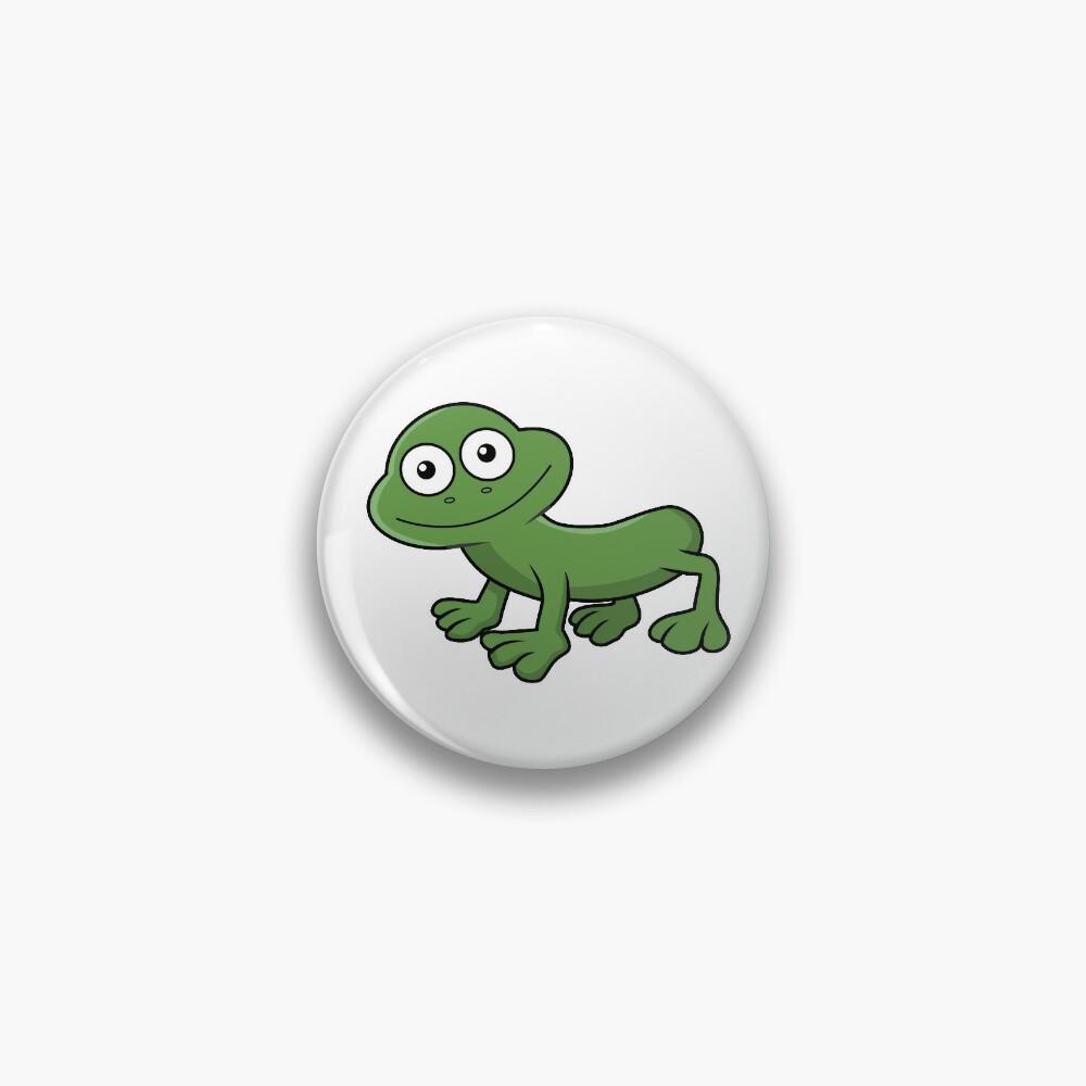 Sausage Frog Pin