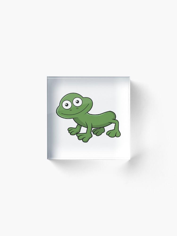 Alternate view of Sausage Frog Acrylic Block