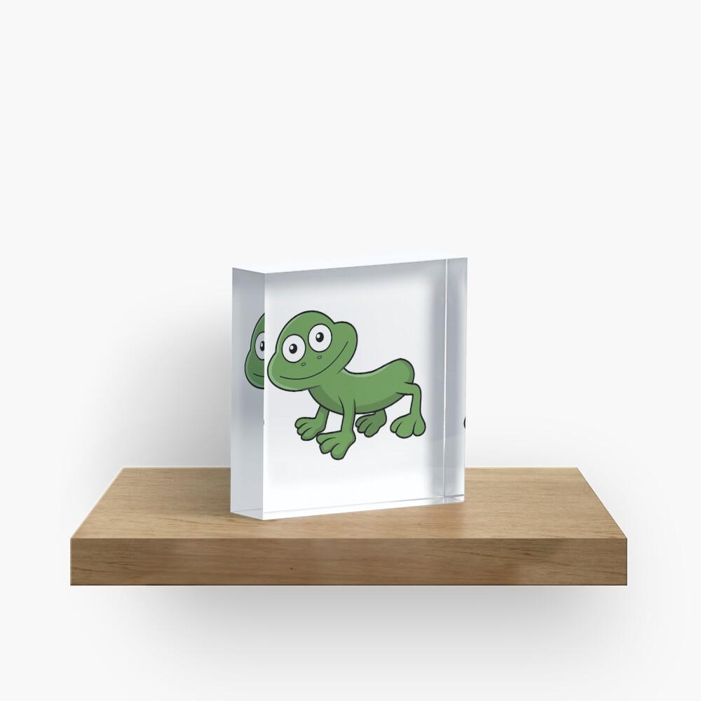 Sausage Frog Acrylic Block