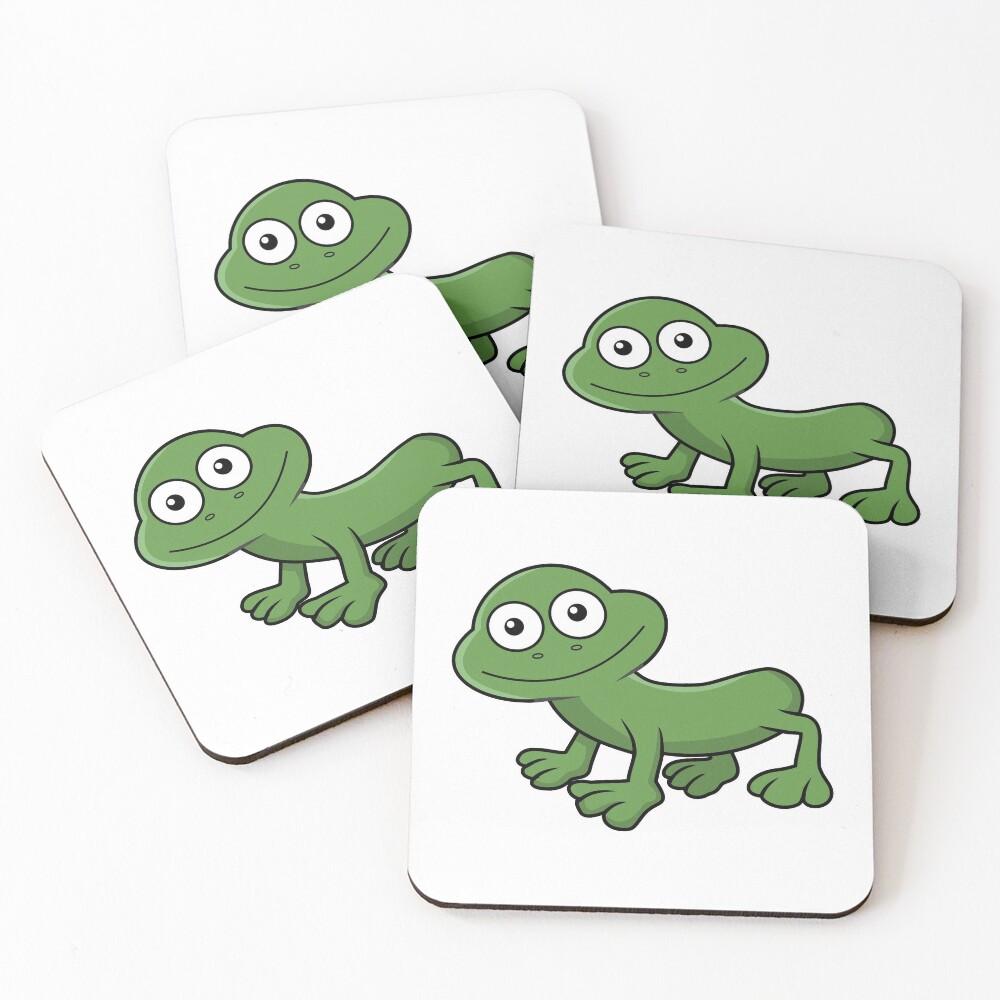 Sausage Frog Coasters (Set of 4)