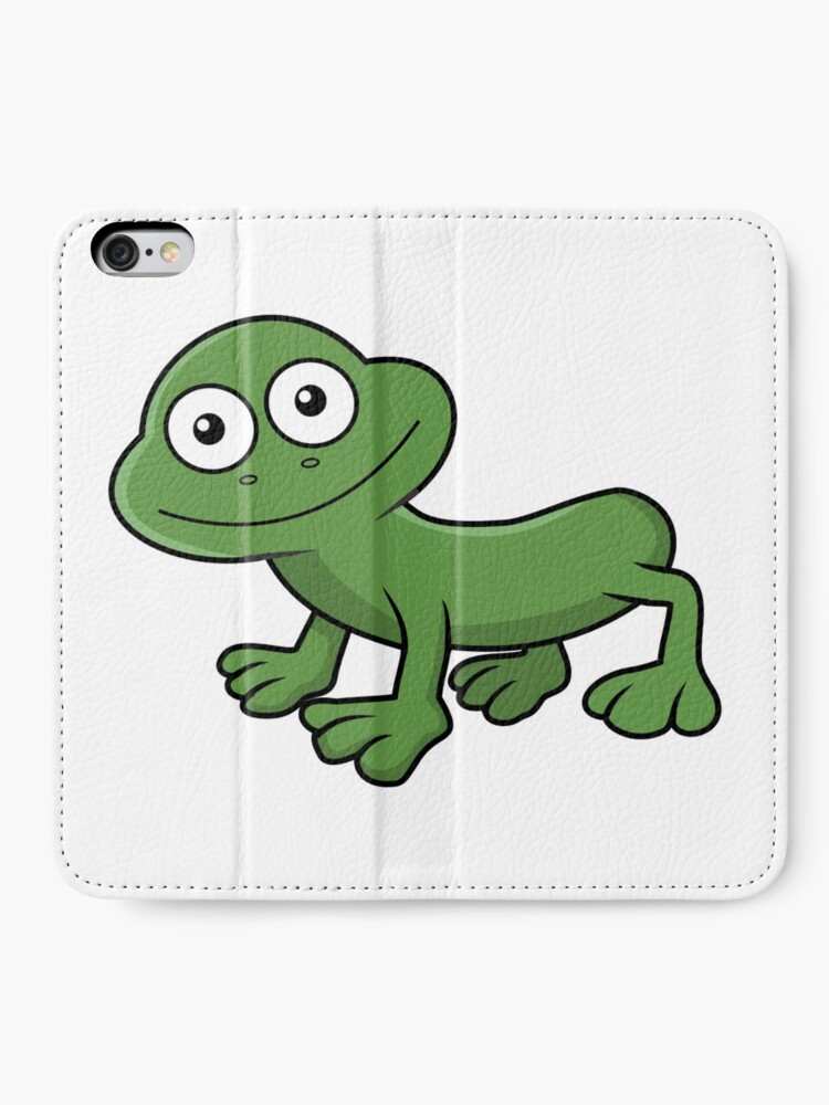 Alternate view of Sausage Frog iPhone Wallet