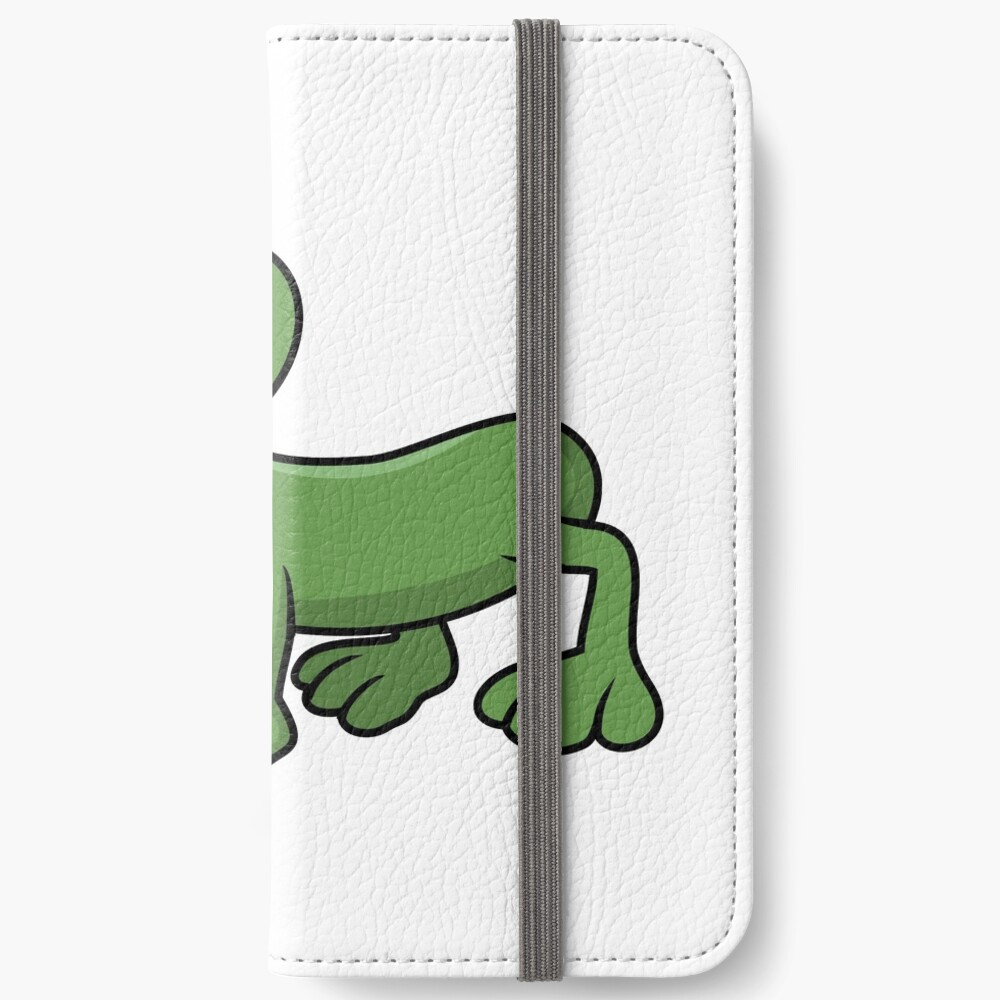 Sausage Frog iPhone Wallet