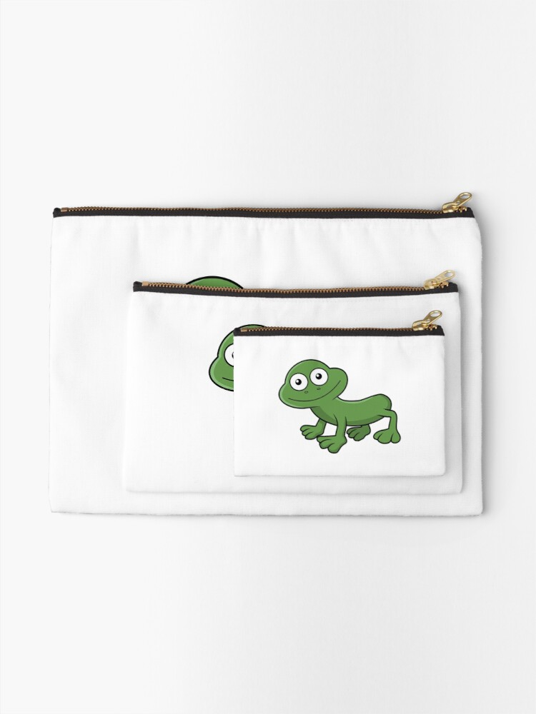 Alternate view of Sausage Frog Zipper Pouch