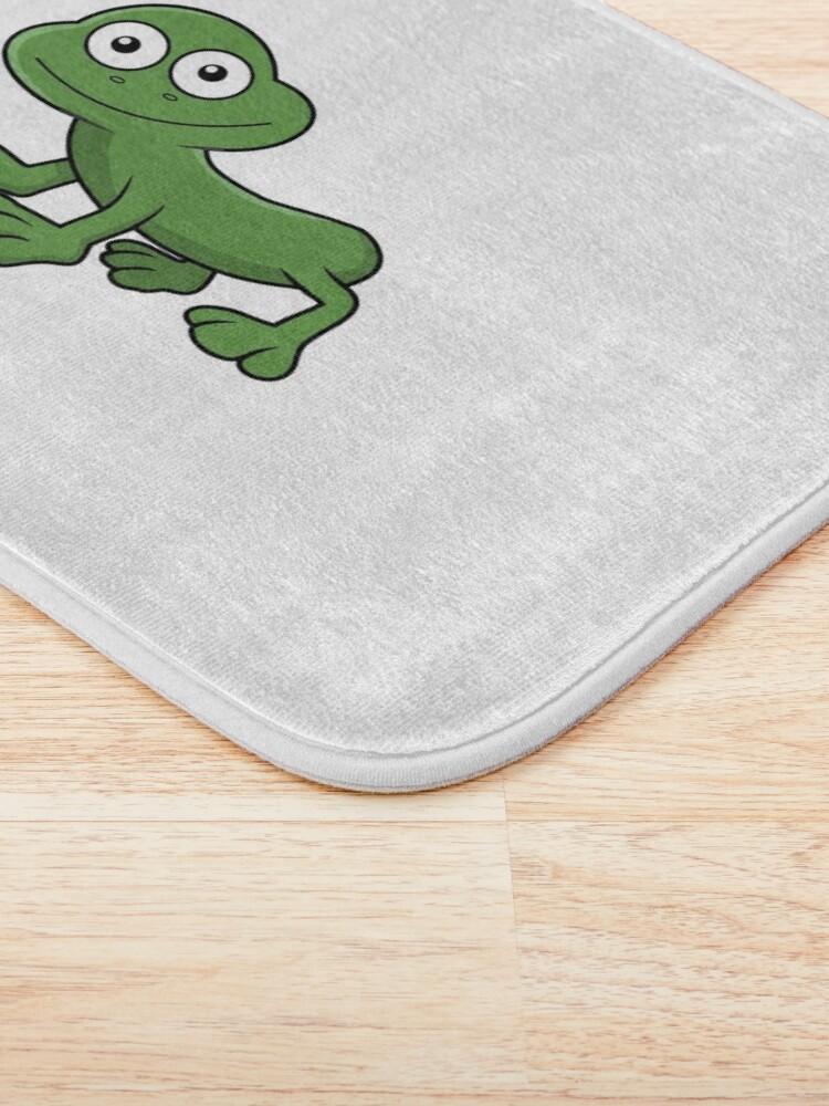 Alternate view of Sausage Frog Bath Mat