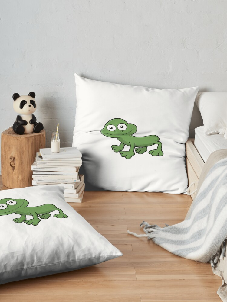 Alternate view of Sausage Frog Floor Pillow