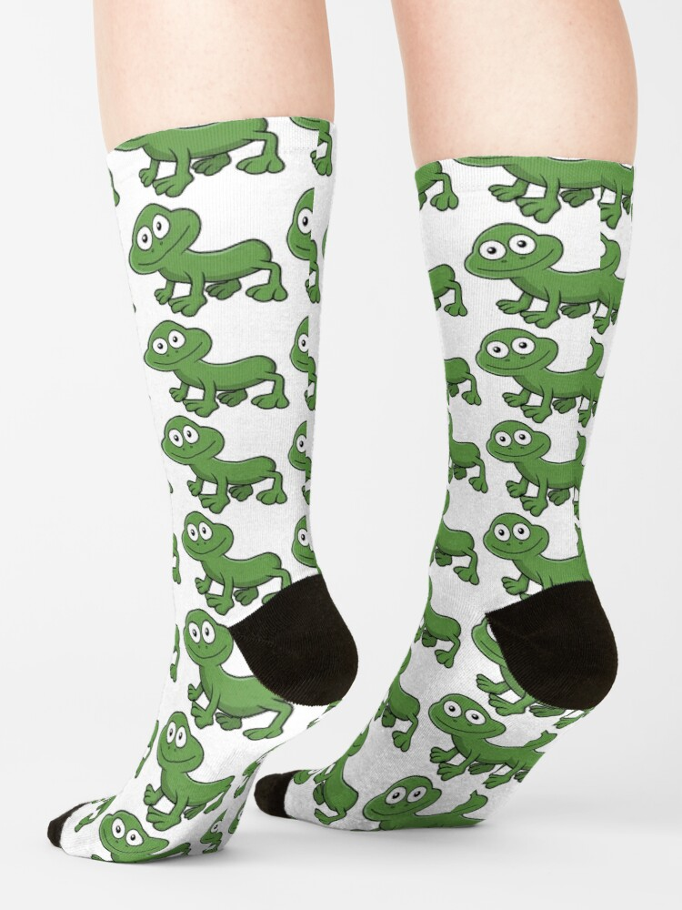Alternate view of Sausage Frog Socks