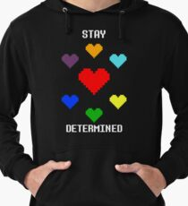 Stay Determined! Lightweight Hoodie