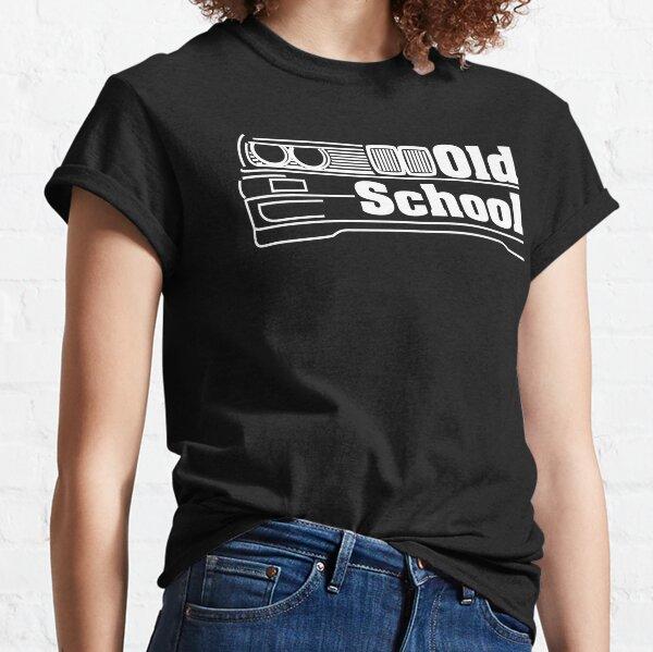 E30 Old School - Blanc T-shirt classique