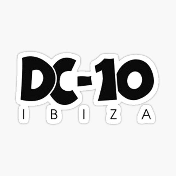 DC-10 Ibiza Pegatina