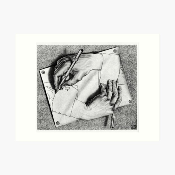 Mc Escher Lámina artística