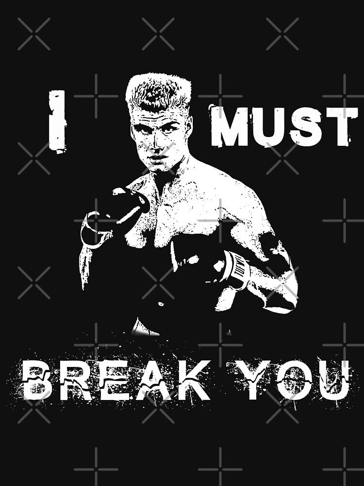 Ivan Drago Rocky Ich muss dich brechen von JTK667
