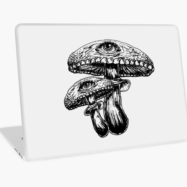 Fungeyes (Black) Laptop Skin