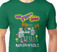 Flight of the Conchords - Binary Solo - Robots 2 Unisex T-Shirt